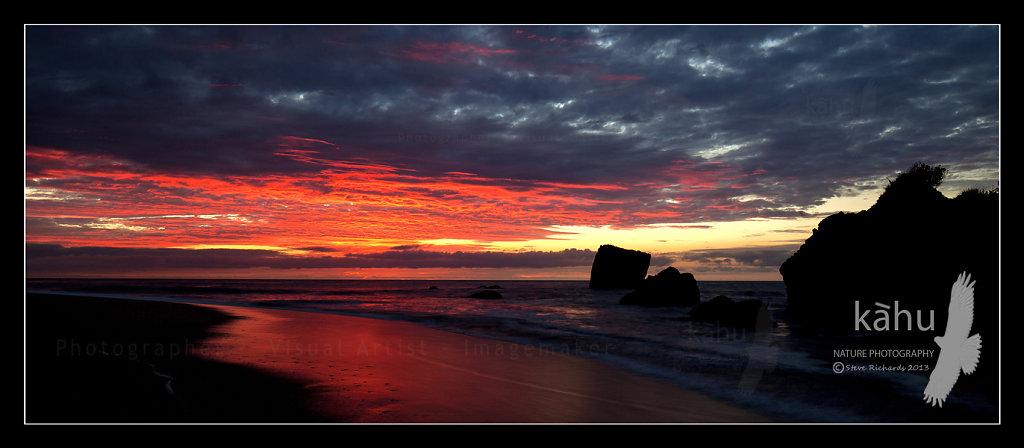 Sunset Kokatahi, Westcoast  L36