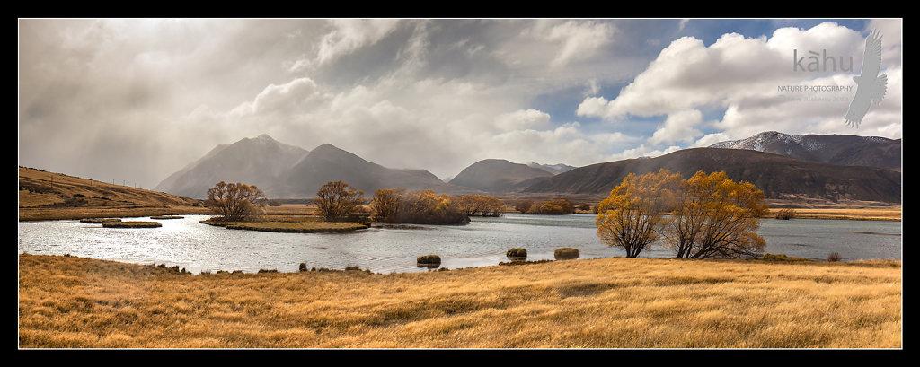 Late Autumn Ahuriri Valley  -  P12