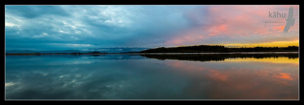 Sunset Manawatu Estuary  -  P1